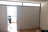 Freestanding temporary wall